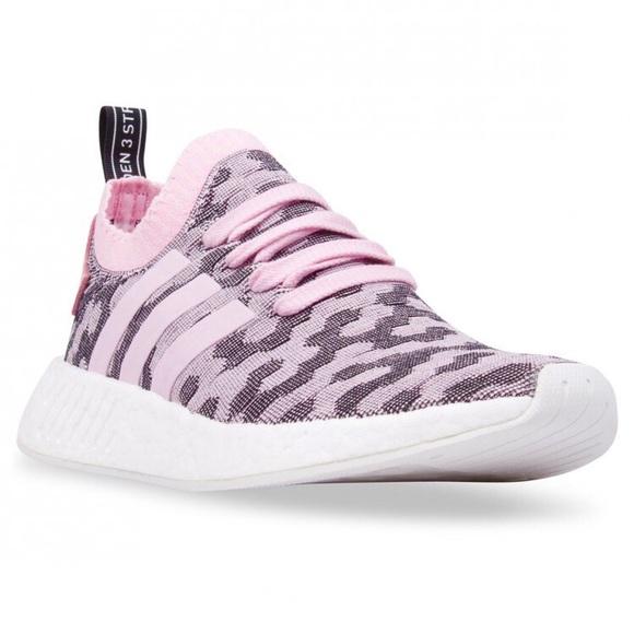 best service 99fd8 1d1f2 Adidas NMD Boost Primeknit Pink